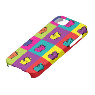 Maneki Neko Kitty Pop Art iPhone 5 Covers