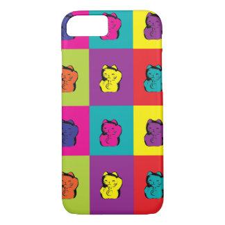 Maneki Neko Kitty Pop Art iPhone 7 Case