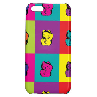 Maneki Neko Kitty Pop Art iPhone 5C Case