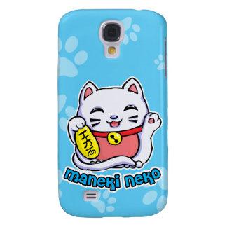 Maneki Neko lucky cat Samsung Galaxy S4 Cases