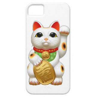 maneki-neko  lucky cat iPhone 5 case