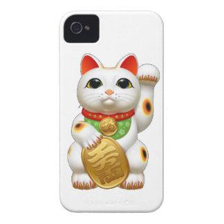 maneki-neko  lucky cat iPhone 4 covers