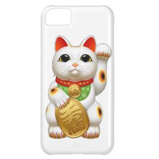 maneki-neko lucky cat iPhone 5C cases