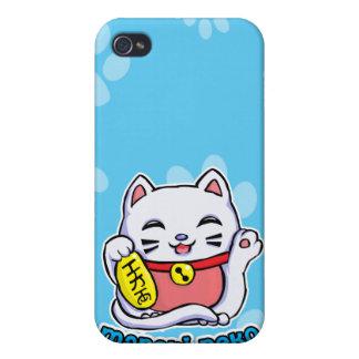 Maneki Neko lucky cat iPhone 4 Covers