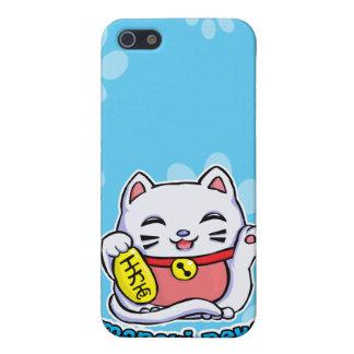Maneki Neko lucky cat Cover For iPhone 5