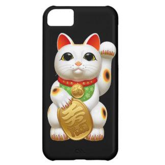 maneki-neko lucky cat japanese charm talisman welc iPhone 5C case