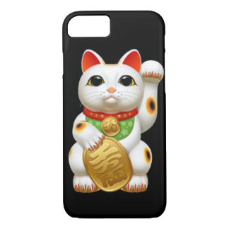 maneki-neko lucky cat japanese charm talisman welc iPhone 7 case