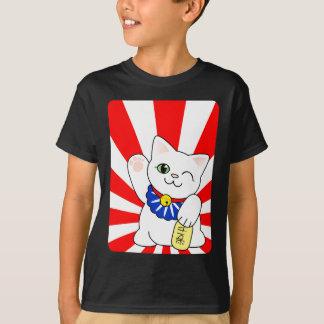 Maneki Neko Lucky Cat T-Shirt