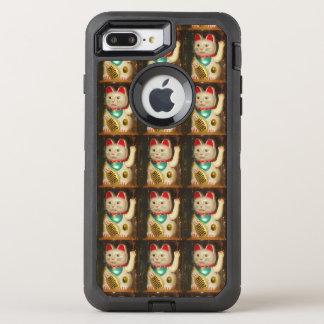 Maneki-neko, Lucky cat, Winkekatze OtterBox Defender iPhone 8 Plus/7 Plus Case