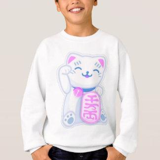maneki neko pastel sweatshirt