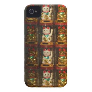Maneki-neko, Winke-Glueckskatzen, Winkekatze iPhone 4 Case-Mate Cases
