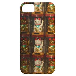 Maneki-neko, Winke-Glueckskatzen, Winkekatze iPhone 5 Cases