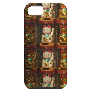 Maneki-neko, Winke-Glueckskatzen, Winkekatze iPhone 5 Covers