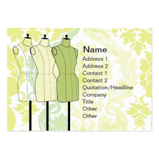 Manequins - Chubby Large Business Cards (Pack Of 100)