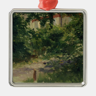 Manet | A Corner of the Garden in Rueil, 1882 Christmas Ornament
