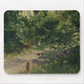 Manet | A Corner of the Garden in Rueil, 1882 Mouse Mat