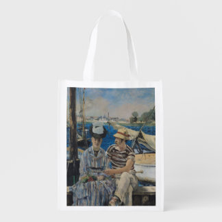 Manet | Argenteuil, 1874 Reusable Grocery Bag