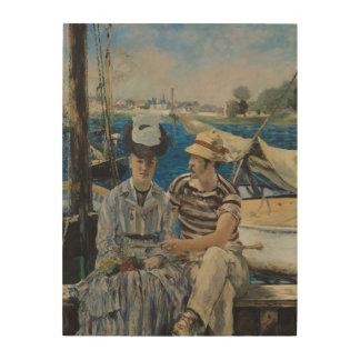 Manet   Argenteuil, 1874 Wood Print