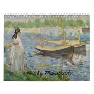 Manet Art 2017 Calendar