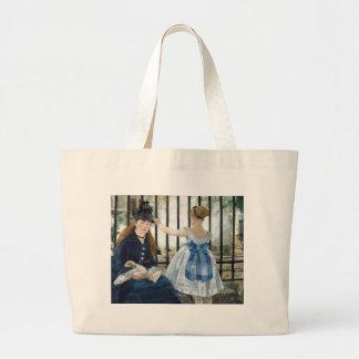 Manet Art Jumbo Tote Bag