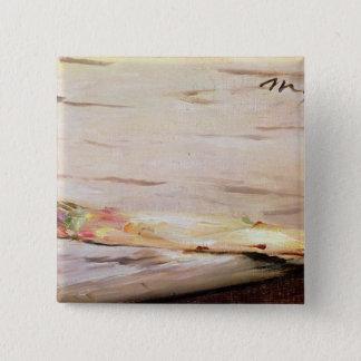 Manet   Asparagus, 1880 15 Cm Square Badge