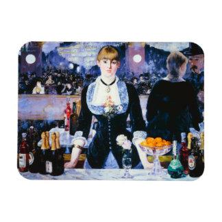 Manet Bar at the Folies Bergere Magnet