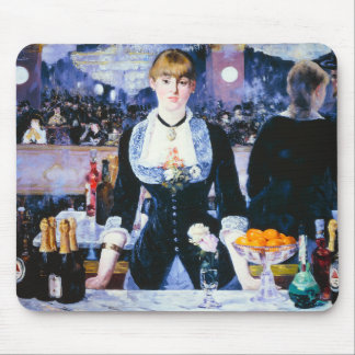 Manet Bar at the Folies Bergere Mouse Pad