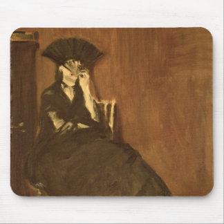 Manet | Berthe Morisot  with a Fan, 1872 Mouse Pad