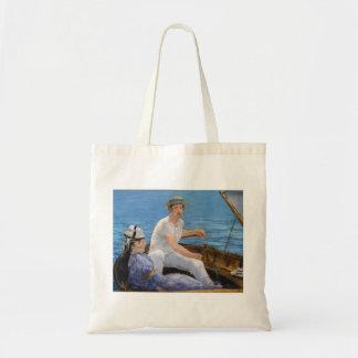 Manet Boating Tote Bag