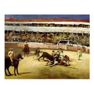 Manet | Bull Fight, 1865 Postcard