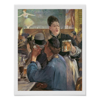 Manet   Corner of a Cafe-Concert, 1878-80 Poster
