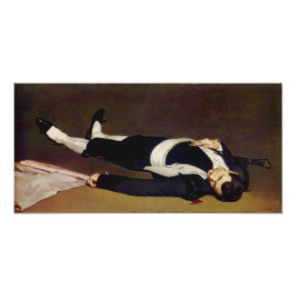 Manet Dead Matador Poster