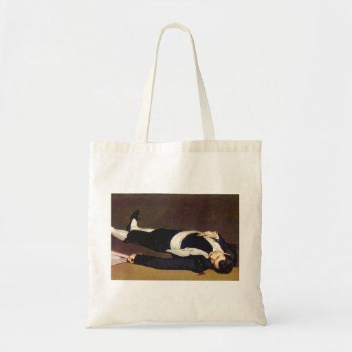 Manet Dead Matador Tote Bag