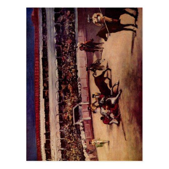 Manet, Edouard Stierkampf 1865-1866 Technique ?l a Postcard