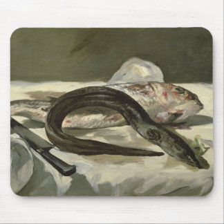 Manet | Eel and Red Mullet, 1864 Mouse Pad