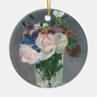 Manet | Flowers in a Crystal Vase, c.1882 Christmas Ornament
