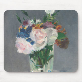 Manet | Flowers in a Crystal Vase, c.1882 Mouse Mat