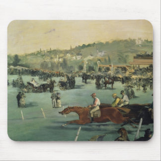 Manet | Horse Racing, 1872 Mouse Pad
