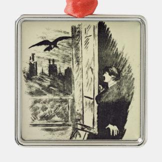 Manet | Illustration for 'The Raven' Christmas Ornament