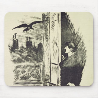 Manet | Illustration for 'The Raven' Mouse Pad