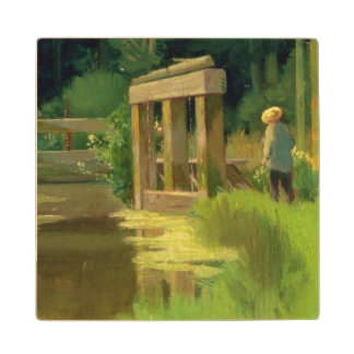 Manet | In a Park Wood Coaster