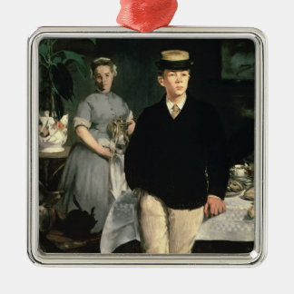 Manet | Luncheon in the Studio, 1868 Christmas Ornament
