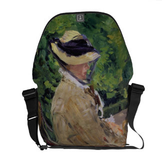 Manet | Madame Manet at Bellevue Messenger Bag