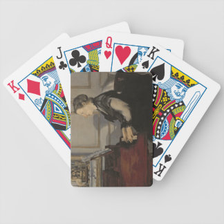 Manet | Madame Manet at the Piano, 1868 Bicycle Playing Cards