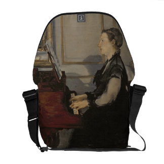 Manet | Madame Manet at the Piano, 1868 Commuter Bags