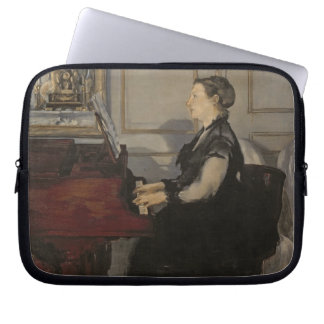 Manet | Madame Manet at the Piano, 1868 Laptop Sleeves