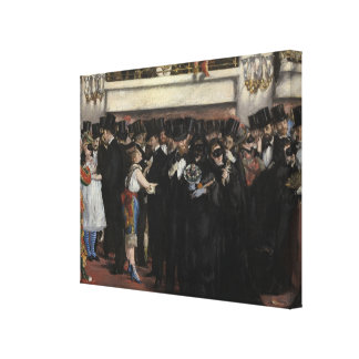 Manet | Masked Ball at the Opera, 1873 Canvas Print