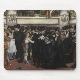 Manet | Masked Ball at the Opera, 1873 Mouse Pad