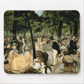 Manet | Music in the Tuileries Gardens, 1862 Mouse Pad
