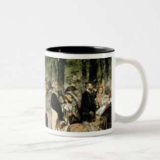 Manet | Music in the Tuileries Gardens, 1862 Two-Tone Coffee Mug